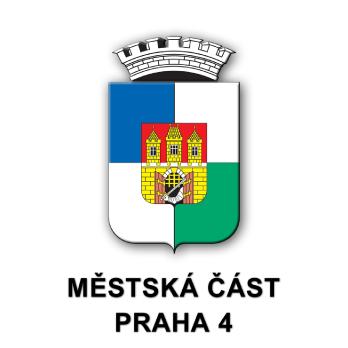 Výsledek obrázku pro praha 4 logo png